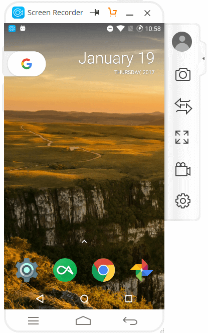 Mirror Android Screen on PC