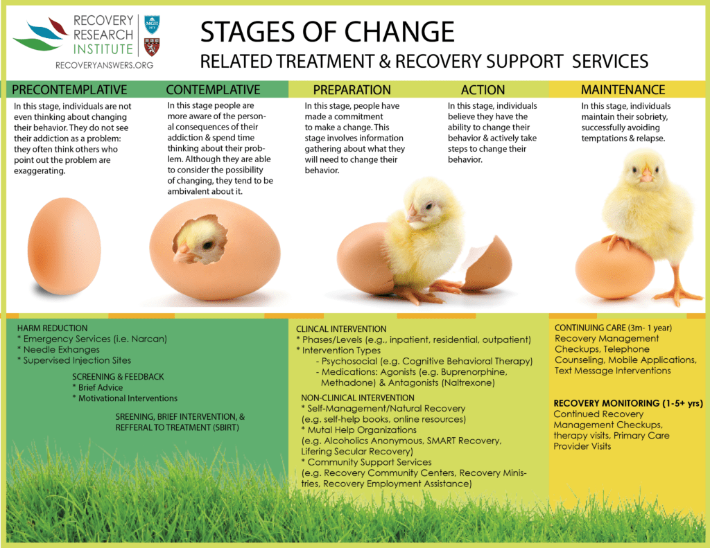 Transtheoretical Stages Of Change Model