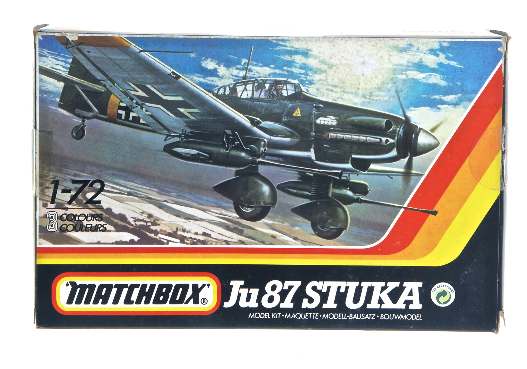 hight resolution of ju 87 stuka wwii dive bomber matchbox 1 72 scale