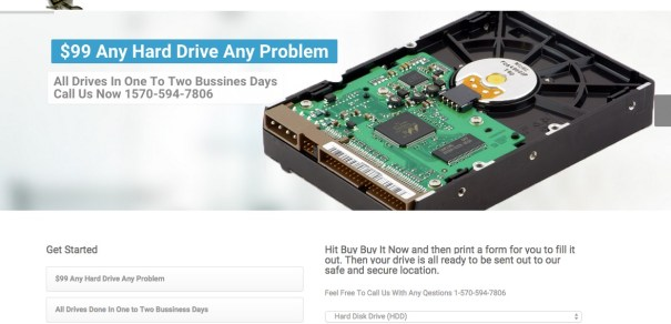 Data Recovery Scam