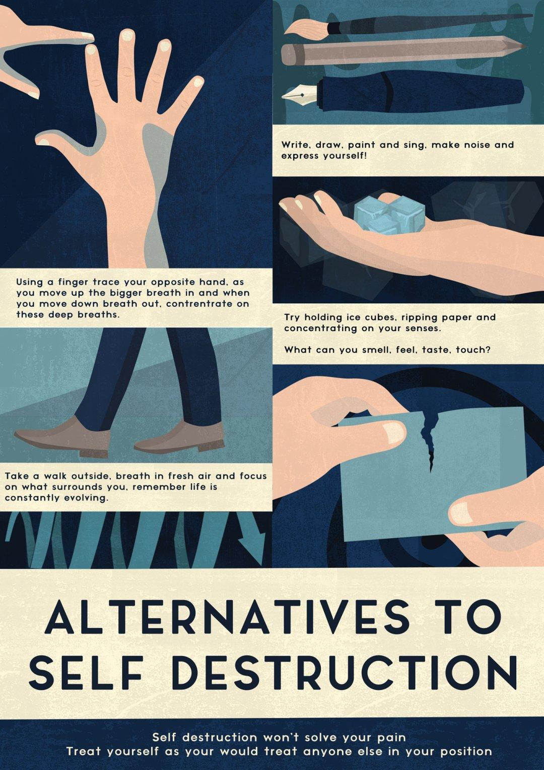 Self Help Poster