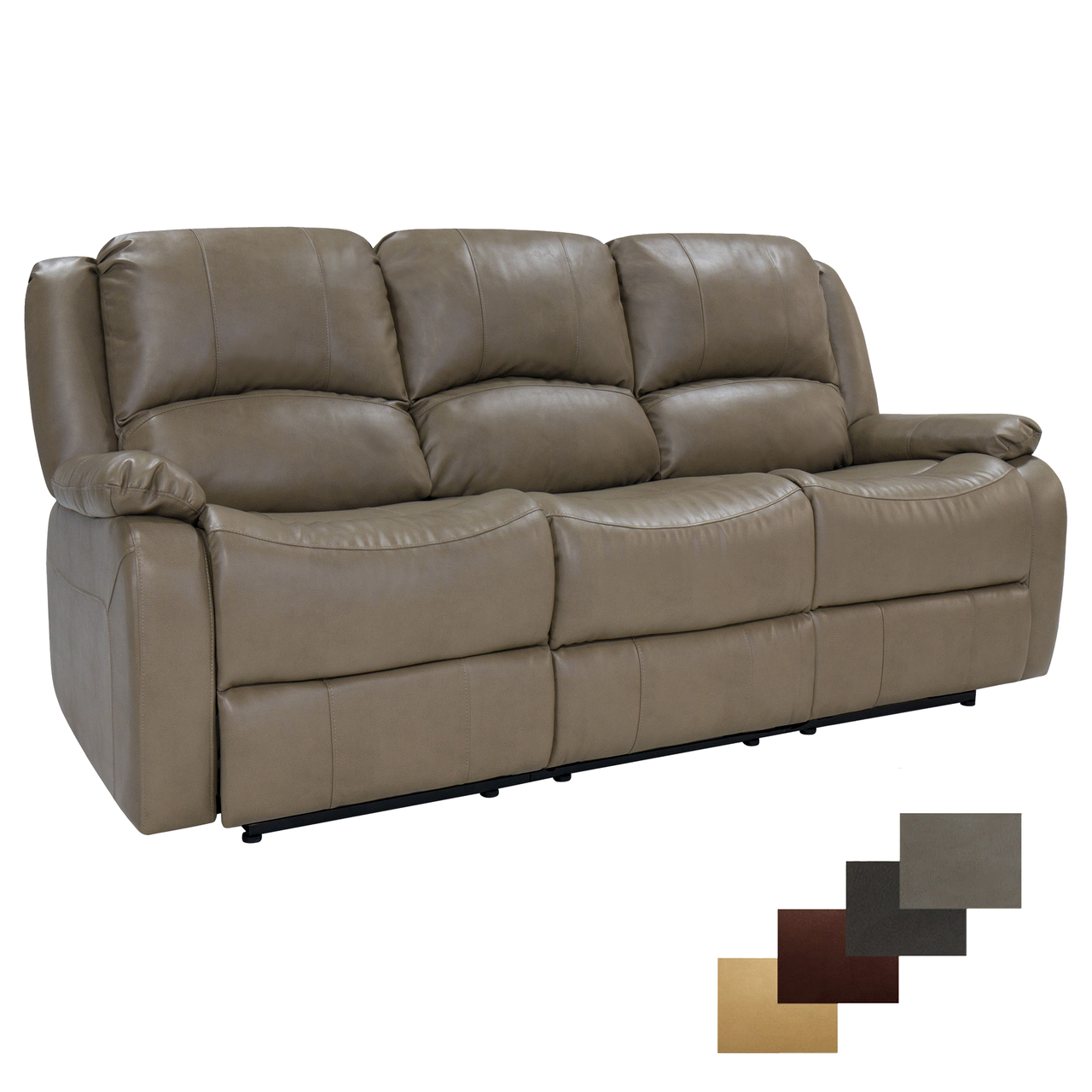 microfiber reclining sofa with drop down table living room leather ideas console baci