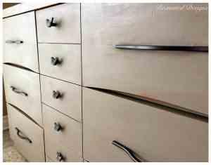 brown dresser drawers