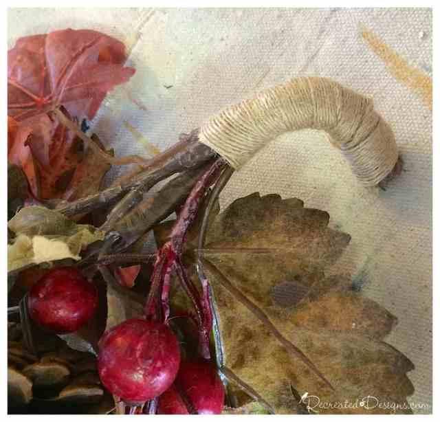 wrapping_foliage_burlap_ribbon