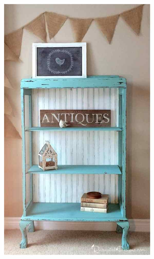 General Finishes Key West Blue chalk style paint