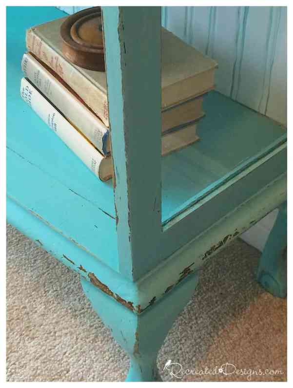 handpainted-lines-distressing-antique-bookcase