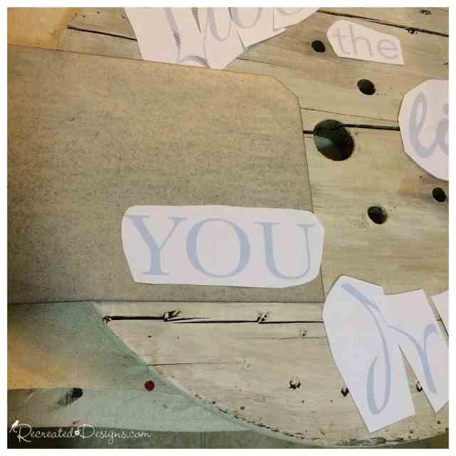 using-graphite-transfer-paper-to-transfer-letters-onto-wood