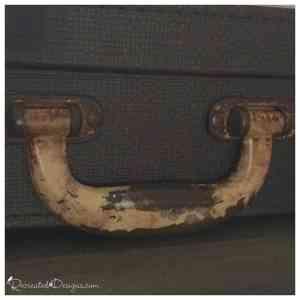 vintage suitcase handle