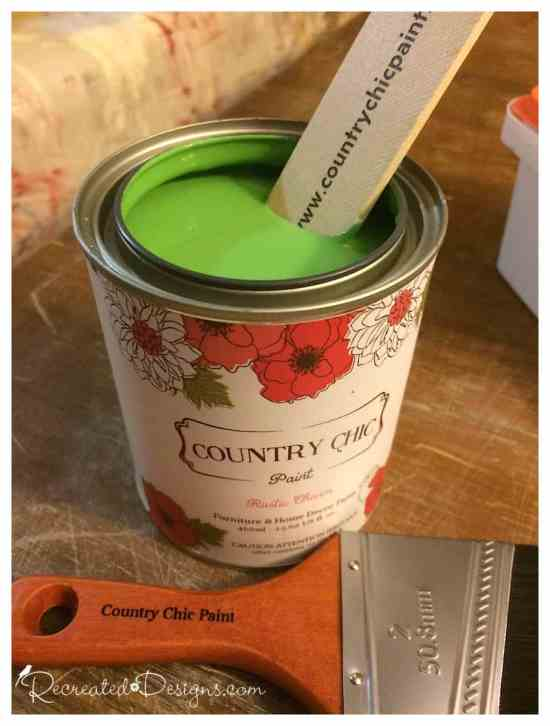 country chic paint in Rustic Charm
