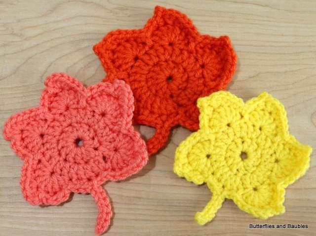 diy-crocheted-maple-leaves