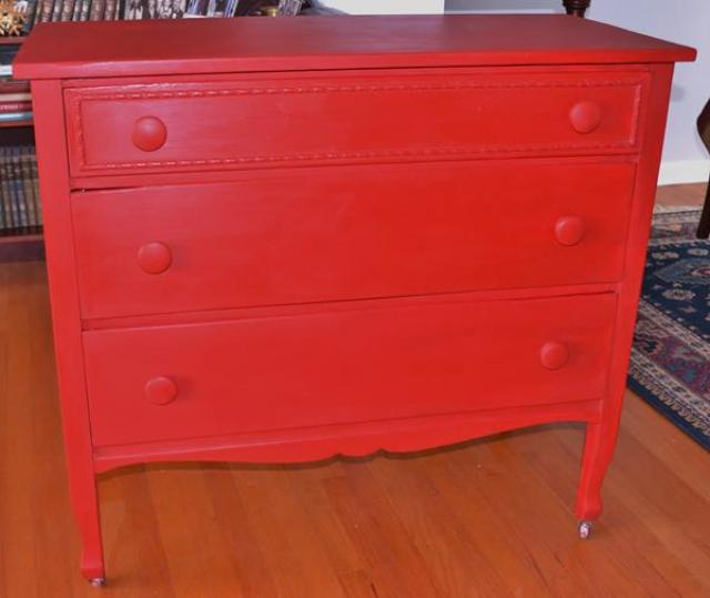cathy-haley-red-dresser
