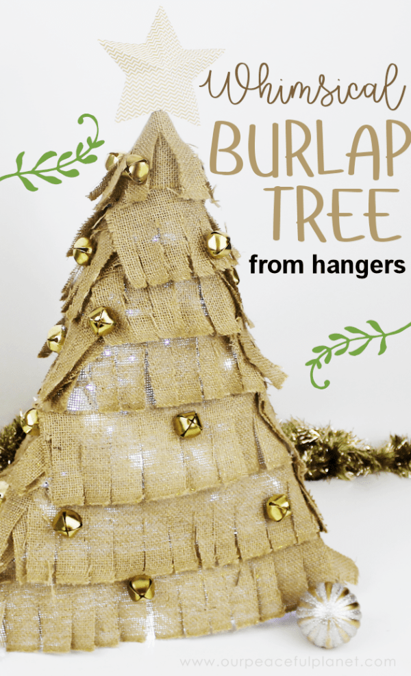 burlap-christmas-tree-made-with-hangers