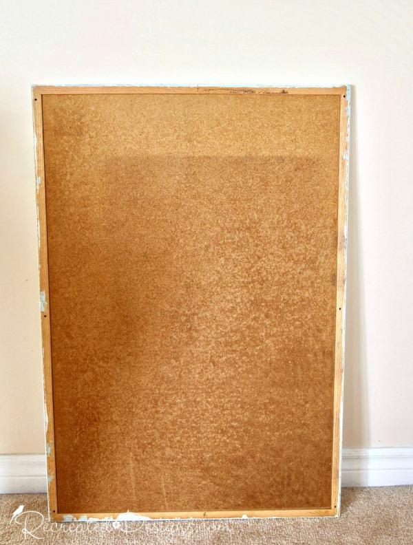 reclaimed cork board