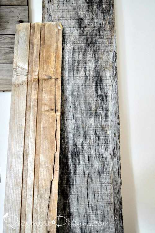 reclaimed and salvaged barn wood