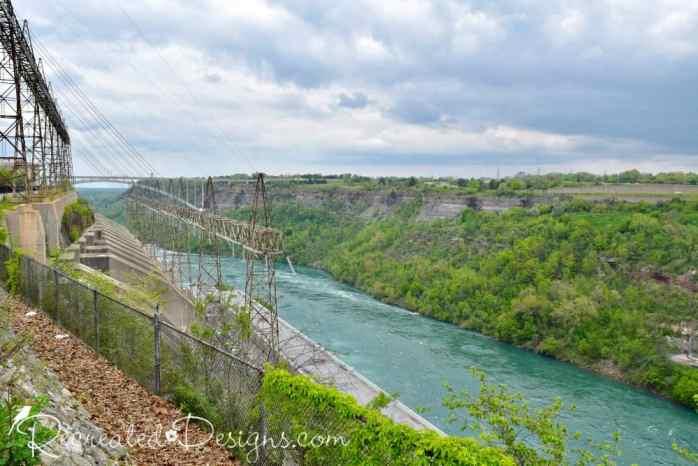 power damn Ontario on Niagara River