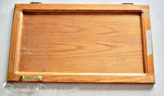reclaimed kitchen cabinet door