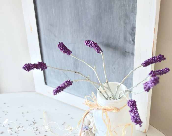 beautiful, handmade Lavender stems