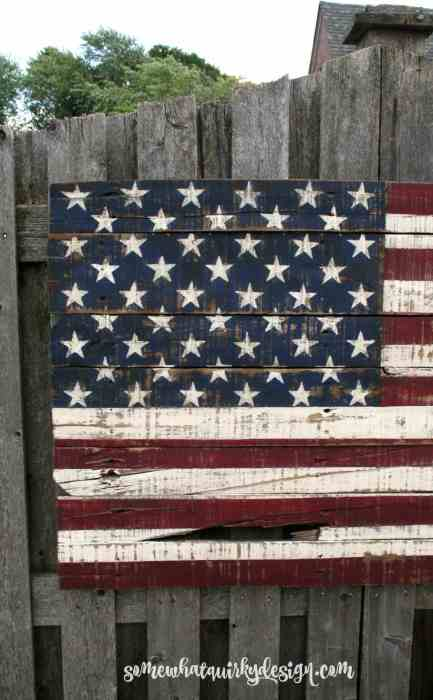 pallet project American flag