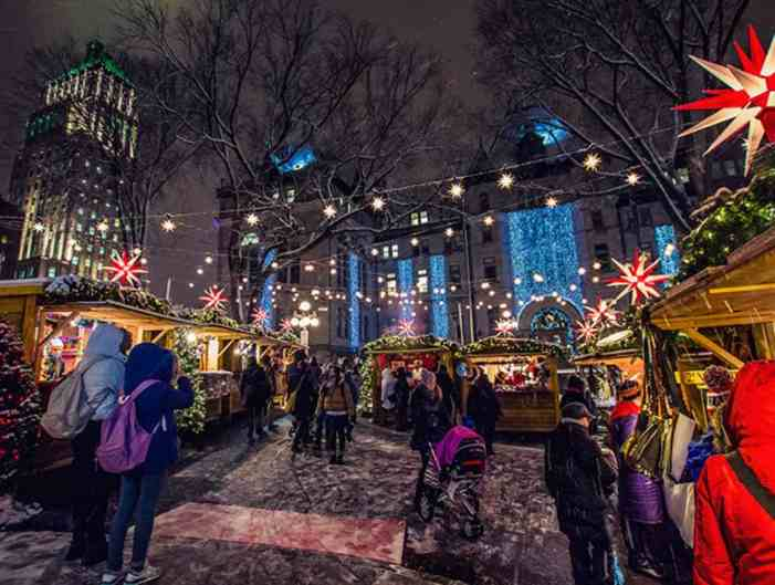 German Christmas Market Quebec City