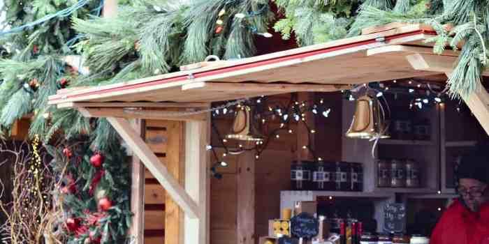 The German Christmas Market, Quebec City, Canada