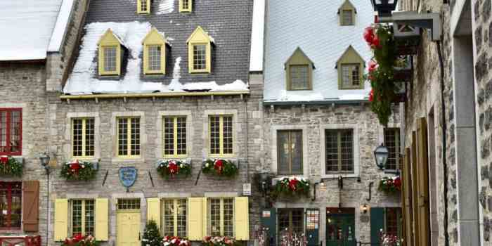 The Incredible Beauty of Old Quebec City