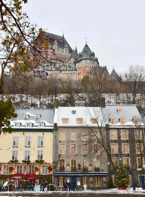 Lower and Upper Towns Old Quebec City