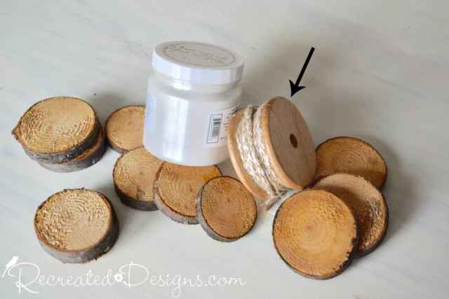 Wood slices and Fusion Metallics in Pearl