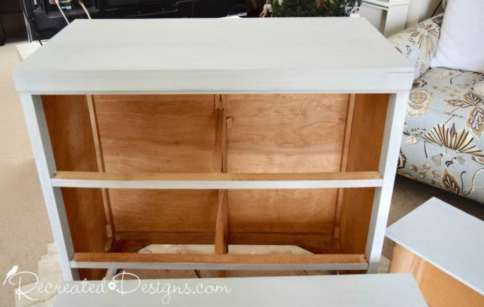 painting a vintage dresser with Miss Mustard Seed Milk Paint in Mora