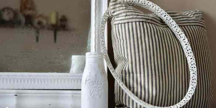 IOD Decor Stamps and Milk Paint Make the Perfect Pair
