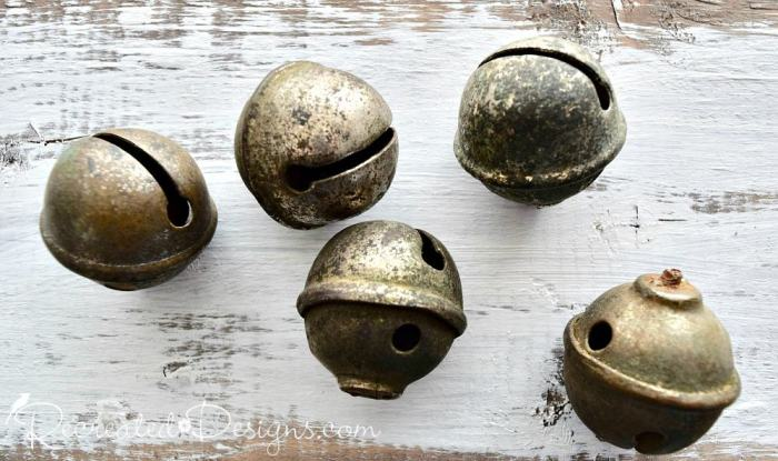 vintage jingle bells found at 613 flea