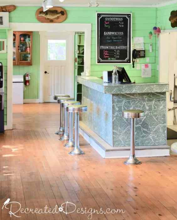 The Opinicon Ice Cream Shop travel Eastern Ontario Canada