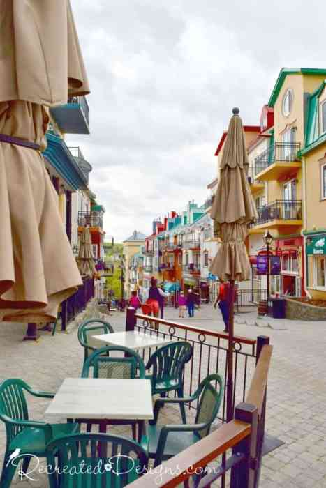 cafes and restaurants in Mont Tremblant, Qubec