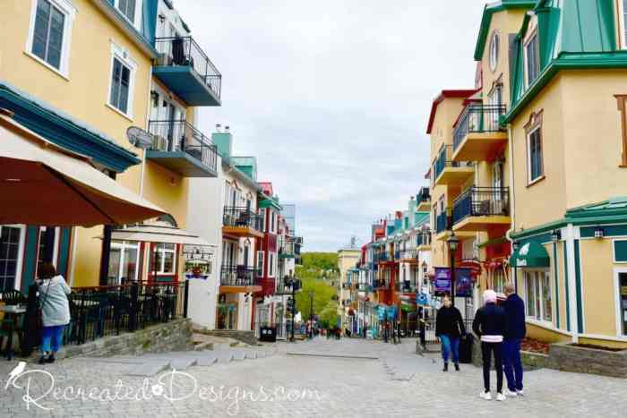 village at Mont Tremblant, Quebec
