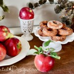 fresh picked apples and donuts