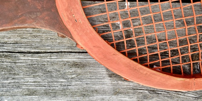 From Broken Old Rackets to Perfect Fall Pumpkins