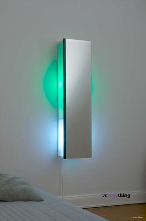 Specchio lampada asse da stiro  recreathing