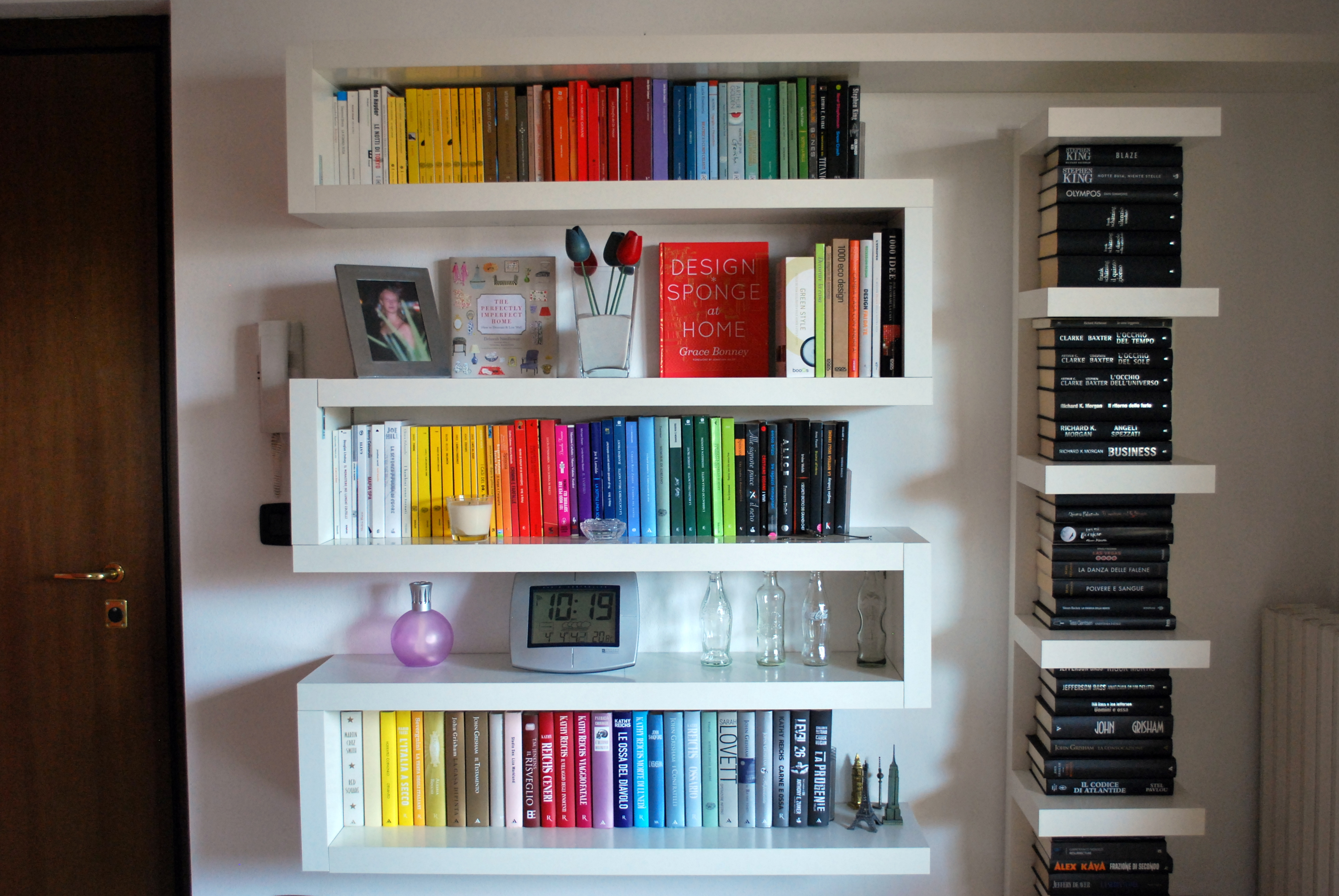 Libreria a zigzag  recreathing