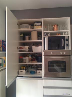 Altra modifica in cucina recreathing - Mobile frigo incasso ...