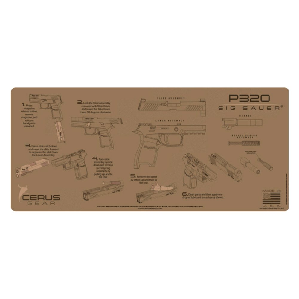 medium resolution of cerus gear sig sauer p320 coyote tan instructional handgun promat