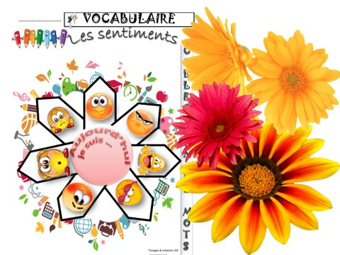 VOCABULAIRE  EXPRESSION ECRITE  DEBATS  LES SENTIMENTS  ReCreatisse