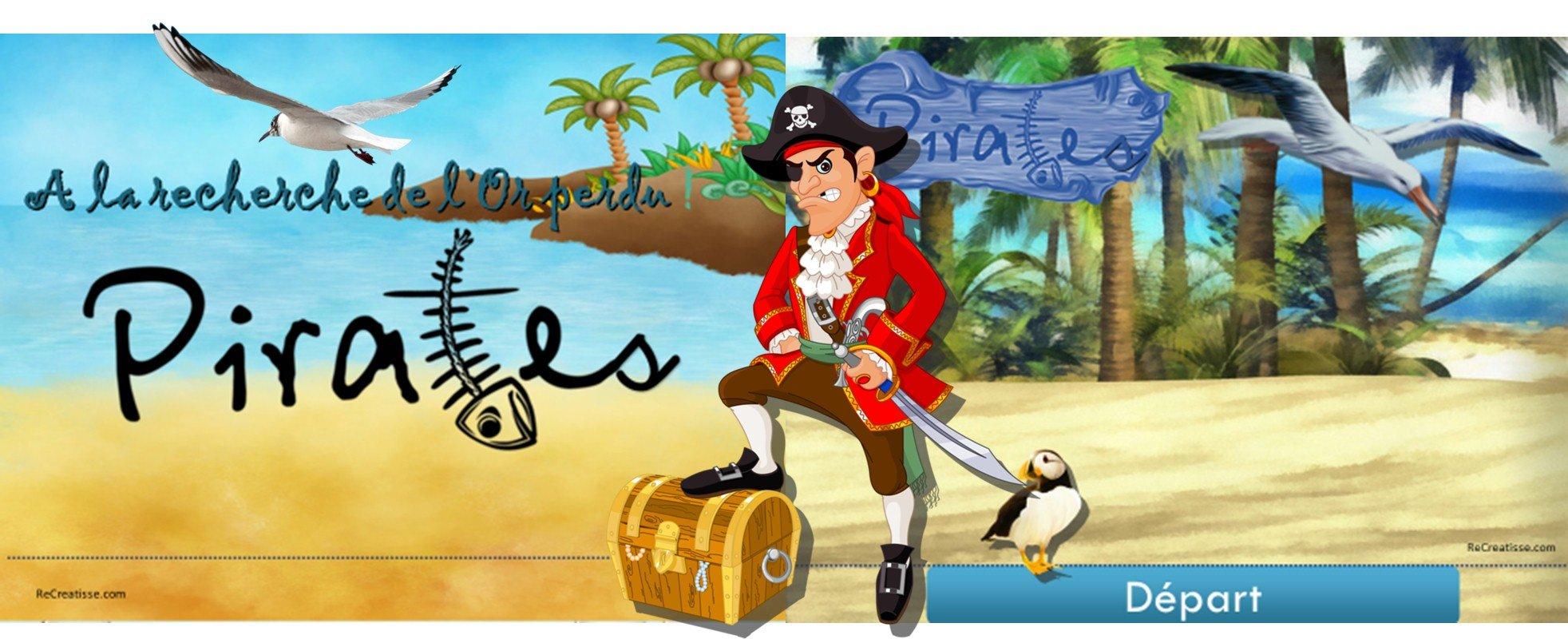 RITUEL et JEU  Le trsor des pirates  ReCreatisse