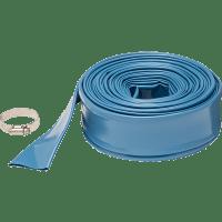 Vinyl Swimming Pool Discharge Hose - 2 inch x 200 foot