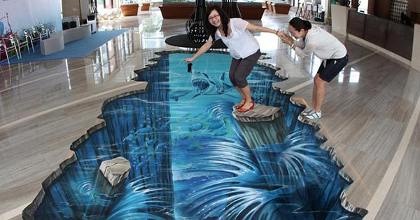 Las 20 Mejores Pinturas Sobre Pavimento Que Dan Un Efecto 3D