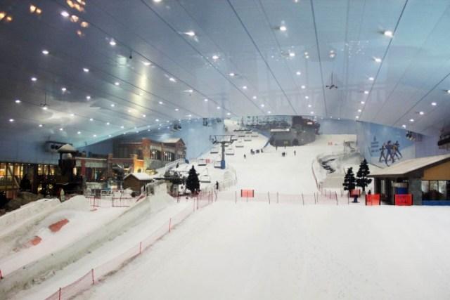 Pista de esquí en Dubai