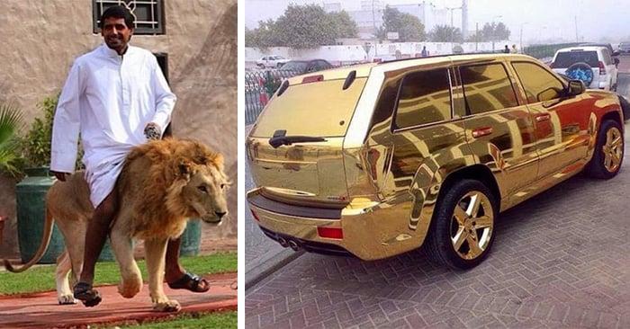 Fotos de la lujosa vida de los ricos y millonarios de Dubai