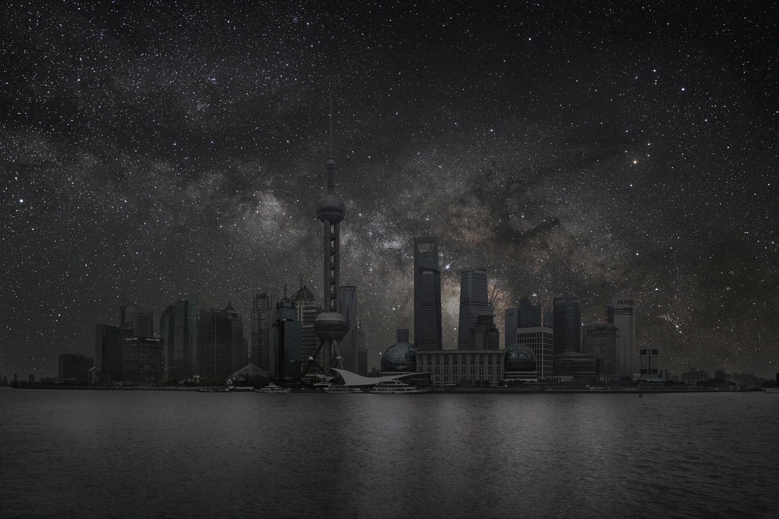 Como Se Verian Las Grandes Ciudades A Oscuras Y Sin Luces
