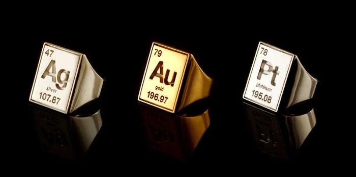Platin Ring Gold