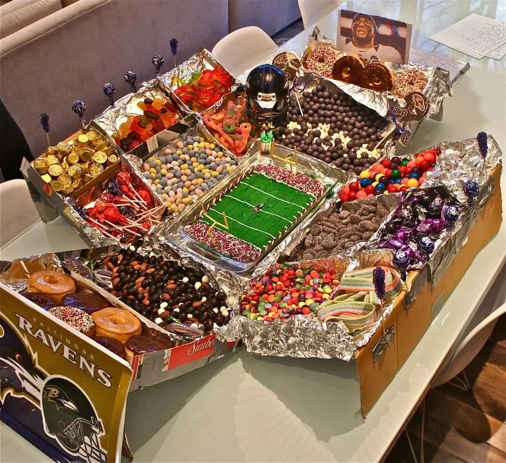 Las botanas y snacks mas locos y extravagantes super bowl