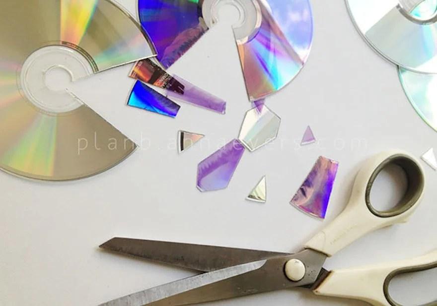 21 brillantes ideas para reciclar tus viejos Cds en casa