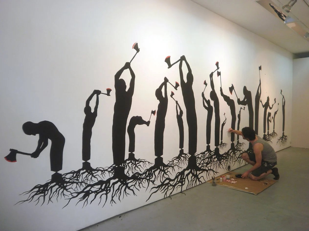 Pejac artista urbano espaol y sus obras en la calle